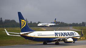 Streiks für Freitag angekündigt: Auch deutsche Ryanair-Piloten legen Arbeit nieder