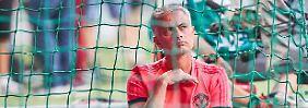 Nicht unumstritten bei Manchester United: Starcoach Jose Mourinho.