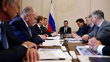 """Drohende Töne aus Russland: Moskau warnt USA vor """"Wirtschaftskrieg"""""""