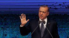 """""""Wir haben unseren Gott"""": Erdogan will Sorge um Lira zerstreuen"""