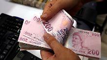 Crash am Devisenmarkt: Sommergewitter für die Türkei und ihre Lira