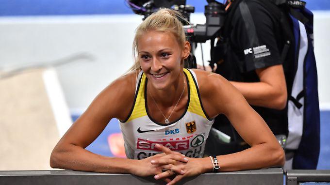 So schön kann Dreisprung sein: Kristin Gierisch.