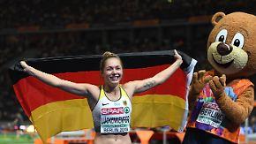 """Sprintstar Lückenkemper im n-tv Interview: """"Möchte die Leichtathletik-Bühne der Welt erklimmen"""""""