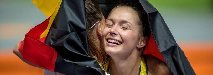 Ein Gesicht dieser EM: deutsche Sprinterin Gina Lückenkemper.
