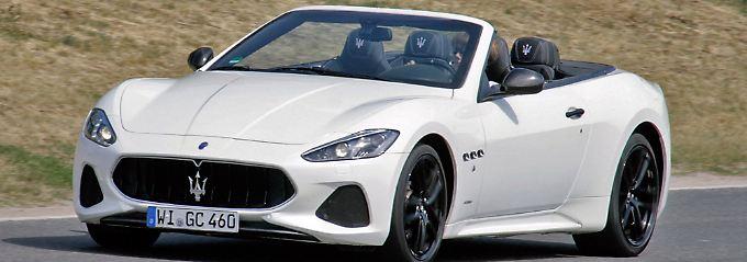Eine der exklusivsten Möglichkeiten, offen zu fahren: Das Maserati Gran Coupé.