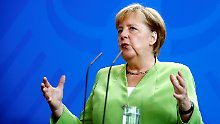 Prinzipien statt Pragmatismus: Merkel erteilt Koalition mit Linken Absage