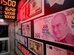 Verluste an der Wall Street: Türkei-Krise lässt US-Anleger zaudern