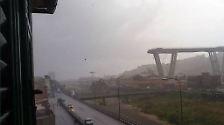 Die Katastrophe von Genua: Einstürzende Autobahnbrücke wird zur Todesfalle