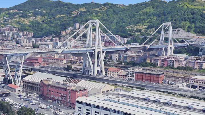 Brücke Genua Einsturz