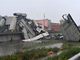 Autobahnbrücke stürzt ein: Was bisher zum Unglück in Genua bekannt ist