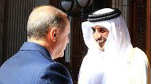 Milliardeninvestition geplant: Katar kündigt Finanzspritze für Türkei an