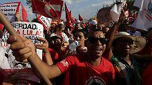 Bewerber hinter Gittern: Brasiliens Ex-Präsident Lula beharrt auf Amt