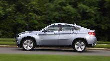 Die Fans lieben die Optik des BMW X6, andere finden sie gewöhnungsbedürftig.