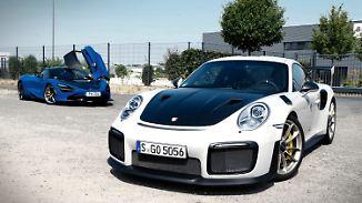 Ähnliche Performance, völlig unterschiedliche Charaktere – Porsche 911 GT2 RS und McLaren 720 S.