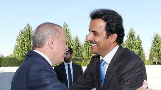 Hilfe für Erdogan: Katar sichert der Türkei milliardenschwere Investitionen zu