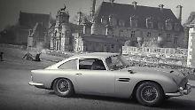 Dank seiner geheimwaffen war James Bond im Aston Martin DB5 fast unschlagbar.