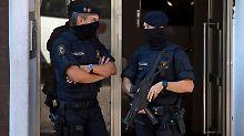 Messerattacke in Katalonien: Polizei erschießt Angreifer bei Barcelona