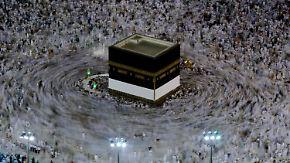 Muslimische Wallfahrt: Mekka erwartet zwei Millionen Hadsch-Pilger