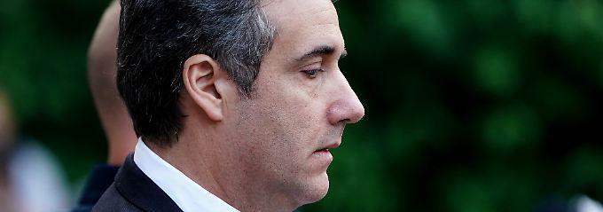 """Trumps """"Ausputzer"""": Michael Cohen bekennt sich schuldig"""