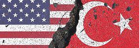 Derzeit gibt es einen tiefen Riss im amerikanisch-türkischen Verhältnis.