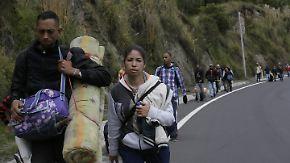 Exodus der Armen und Hoffnungslosen: Venezolaner kehren ihrem Land den Rücken