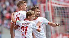 Nächster Rückschlag für Fürth: Köln schlägt Aue auf dem Weg zur Spitze