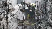 Großeinsatz bei Berlin: Feuerwehr bringt Waldbrand unter Kontrolle