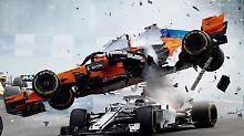 Lebensretter für F1-Piloten: Halo erntet nach heftigem Crash viel Lob