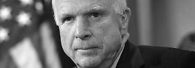 """Nur ein Tweet für einen """"Helden"""": Trump will McCain nicht würdigen"""
