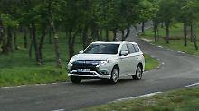Der Mitsubishi Outlander ist als Plug-in-Hybrid ein echter Bestseller.