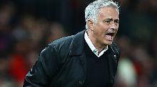 """Man United heftig in der Krise: Gefrusteter Mourinho """"dreht durch"""""""