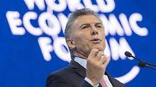 Währungskrise in Südamerika: Argentinien bittet IWF um schnelle Hilfe