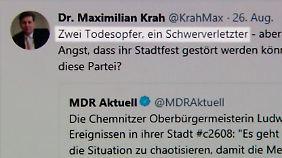 Rasante Verbreitung im Netz: Fake News heizen Stimmung in Chemnitz auf