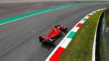 """Ferrari dominiert vor Heim-GP: Vettel """"schenkt"""" Räikkönen die Monza-Pole"""