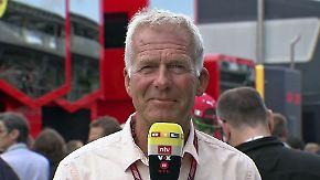 """Danner zum F1-Qualifying in Italien: """"Eigentlich steht der falsche Mann auf der Pole-Position"""""""