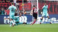 1. FC Nürnberg - FSV Mainz 1:1 (0:1)