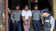 """""""Staatsgeheimnis"""" Völkermord?: Myanmar verurteilt Reuters-Reporter"""
