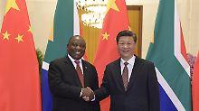 Partner oder Eroberer?: China baut Einfluss in Afrika weiter aus
