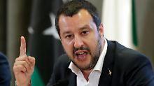 """""""Soziale Konflikte unterschätzt"""": Salvini wirft Merkel Fehler bei Migration vor"""