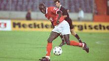 Ali Dia spielte tatsächlich für zwei Spiele für den VfL Lübeck - ausgerechnet gegen Hannover 96 kam er zum Einsatz. Dem Klub, der nun mit Hendrick Weydandt einen echten Coup gelandet hat.