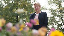 Sorge nach Chemnitz-Besuch: Giffey will Demokratie per Gesetz fördern