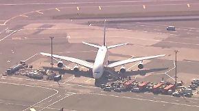 Airbus A380 in New York unter Quarantäne: Hundert Emirates-Passagiere melden Krankheitssymptome