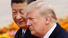 """""""Amerika wird gewinnen"""": Trump will den Handelskrieg mit China"""