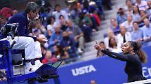 """""""Er hat mir ein Spiel genommen"""": Williams verteidigt Final-Ausraster"""