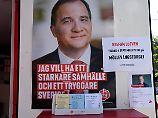 Schweden wählt neues Parlament: Sozialdemokraten kämpfen um ihre Bastion