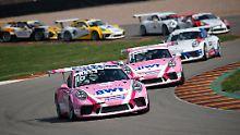 Porsche Carrera Cup: Preining feiert Doppelsieg auf dem Sachsenring