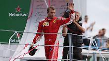 Tschüss, Ferrari: Kimi Räikkönen verlässt den italienischen Rennstall.