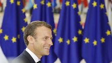 """""""Alternative zu Nationalisten"""": Liberale für Europa-Wahlkampf mit Macron"""
