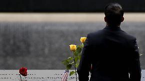 Rückkehr zum Ground Zero: USA gedenken Opfern des Terrors vor 17 Jahren