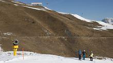 """Satellitenbilder belegen Schwund: """"In der Schweiz verschwindet der Schnee"""""""
